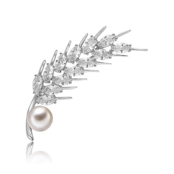 Alloy Fashion Geometric brooch  (61187213) NHXS2082-61187213