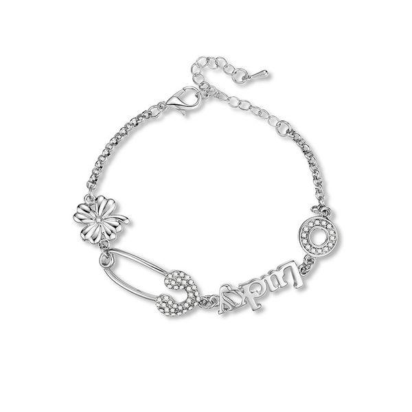 Alloy Fashion Flowers bracelet  (61186378) NHXS2105-61186378