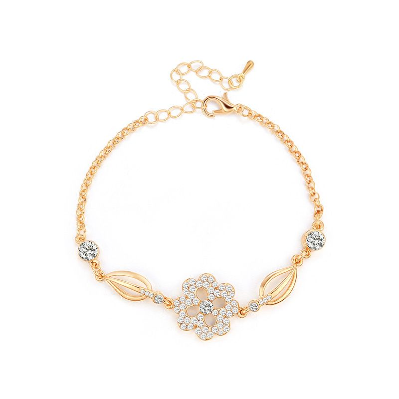 Alloy Fashion Geometric bracelet  (61186373) NHXS2106-61186373