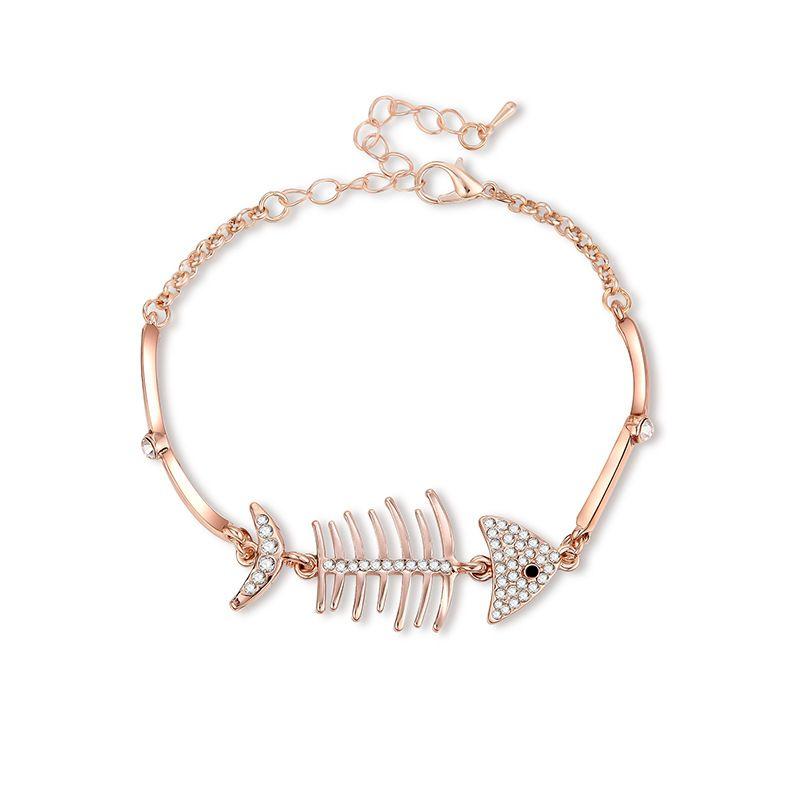 Alloy Fashion Geometric bracelet  (61186382) NHXS2118-61186382