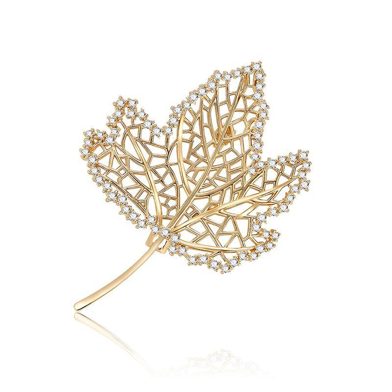 Alloy Fashion Geometric brooch  (61187214) NHXS2169-61187214