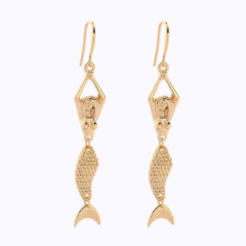 Alloy Fashion Geometric earring  (Photo Color) NHQD5855-Photo-Color