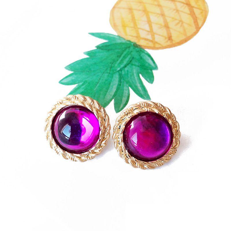 Alloy Korea  earring  (Photo Color) NHOM1110-Photo-Color