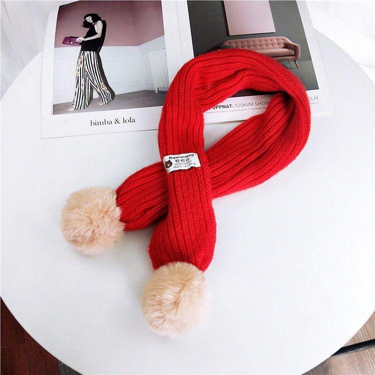 Cloth Korea  scarf  (Red-9*110cm) NHMN0310-Red-9*110cm
