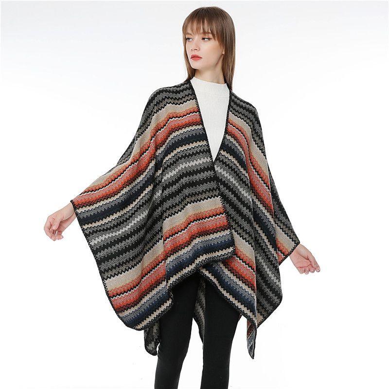 Cloth Fashion  scarf  (1 wave black) NHMN0326-1-wave-black