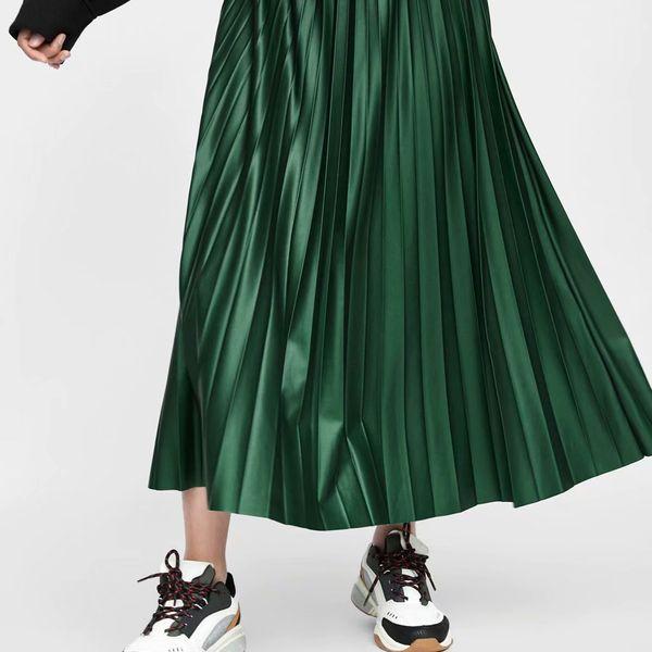 PU Fashion  dress  (Green-s) NHAM6958-Green-s