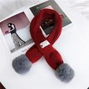 Cloth Korea  scarf  Red9110cm NHMN0310Red9110cm