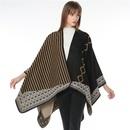 Cloth Fashion  scarf  1 striped floral yellow NHMN03251stripedfloralyellow