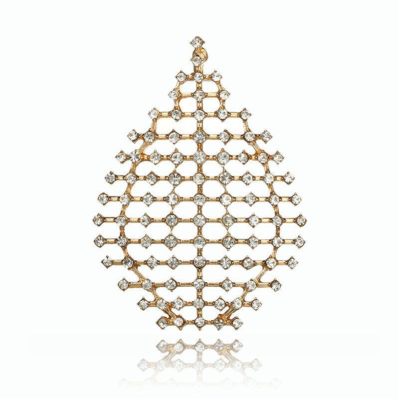 Alloy Simple Geometric earring  (Alloy) NHGY2678-Alloy