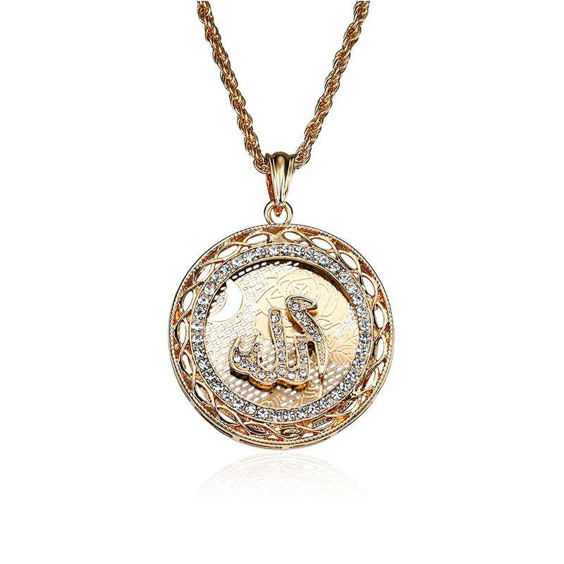 Alloy Punk Geometric necklace  (61171409) NHLP1264-61171409