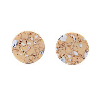 Alloy Fashion Geometric earring  (Orange-1) NHQD5741-Orange-1's discount tags