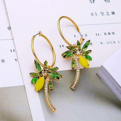 Copper Korea Geometric earring  (Photo Color) NHQD5760-Photo-Color's discount tags