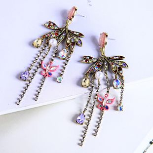 Alloy Fashion Flowers earring  (Photo Color) NHQD5767-Photo-Color's discount tags