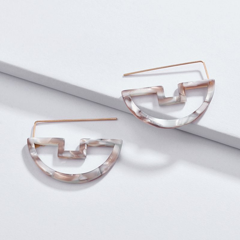 Alloy Fashion Geometric earring  (A0363-1) NHLU0039-A0363-1