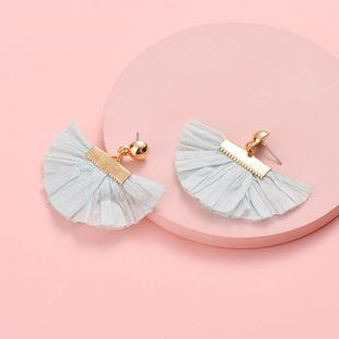 Alloy Fashion Geometric earring  (green) NHLU0129-green's discount tags