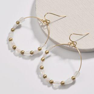 Alloy Fashion Cartoon earring  (white) NHLU0141-white's discount tags