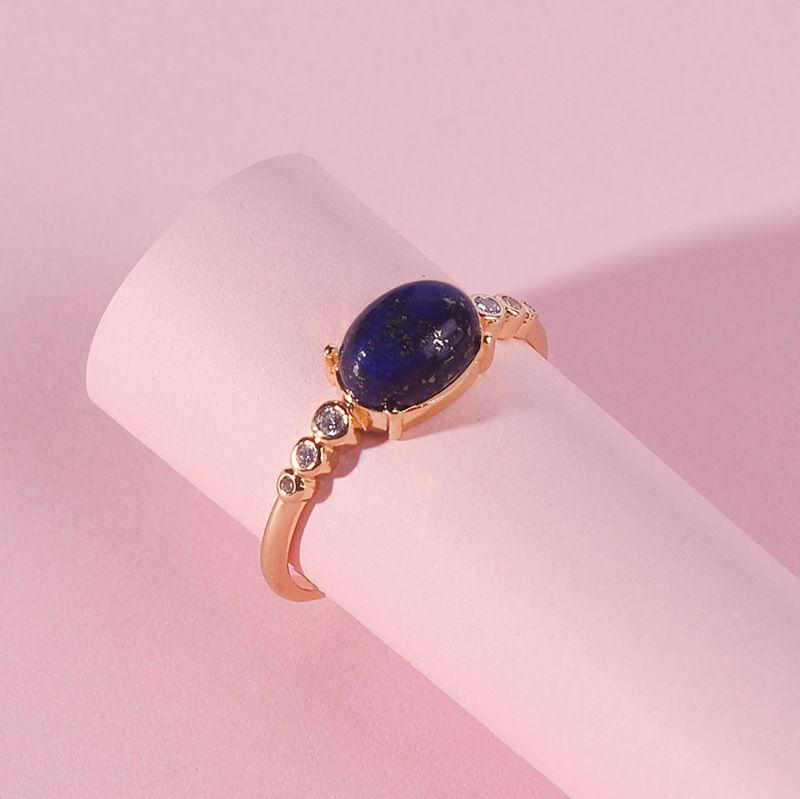 Copper Fashion Geometric Ring  Qingjin7 NHLU0148Qingjin7