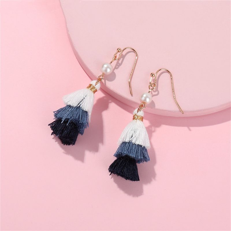 Alloy Fashion Flowers earring  (1) NHLU0162-1