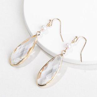 Alloy Fashion Geometric earring  (white) NHLU0221-white's discount tags