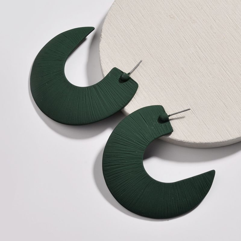 Alloy Fashion Cartoon earring  green NHLU0223green