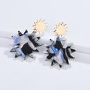 Alloy Fashion Flowers earring  1 NHLU00761