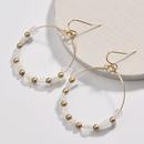 Alloy Fashion Cartoon earring  white NHLU0141white