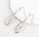 Alloy Fashion Geometric earring  white NHLU0221white