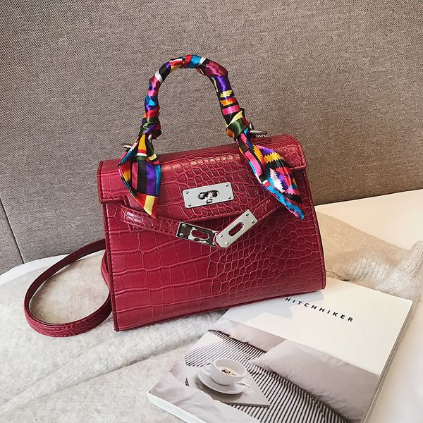 PU Fashion  Shoulder bag  (red) NHTC2490-red