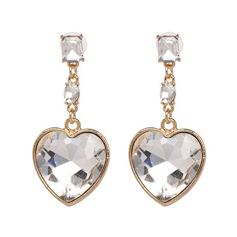 Alloy Fashion Sweetheart earring  (white) NHJJ5350-white's discount tags