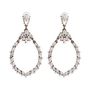 Alloy Fashion Geometric earring  (white) NHJJ5354-white's discount tags