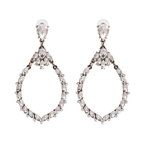Alloy Fashion Geometric earring  (white) NHJJ5354-white's discount tags