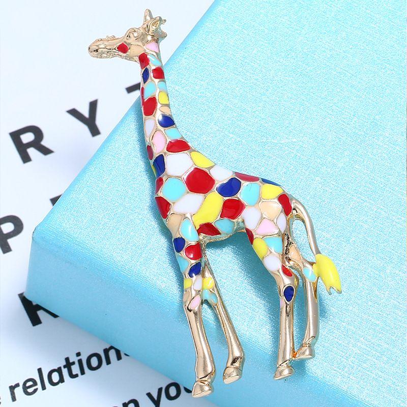 Alloy Fashion Animal brooch  (KC Alloy) NHKQ2147-KC-Alloy