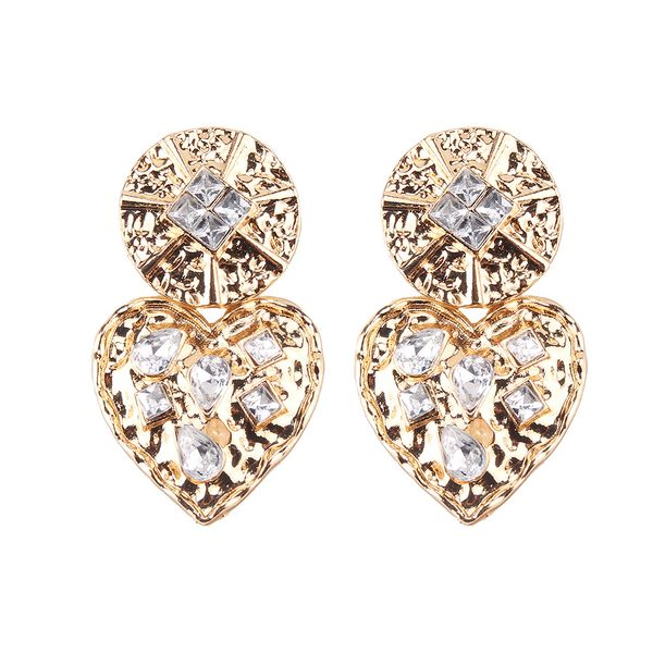 Alloy Fashion Geometric earring  (Alloy) NHJQ11036-Alloy