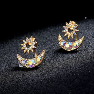 Copper Korea Geometric earring  (Photo Color) NHQD5883-Photo-Color's discount tags