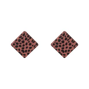Alloy Fashion Geometric earring  (red) NHKC1315-red's discount tags