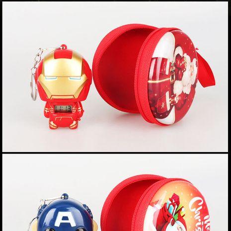 Plastic Other Cartoon key chain  (Iron Man Captain America) NHAT0359-Iron-Man-Captain-America's discount tags
