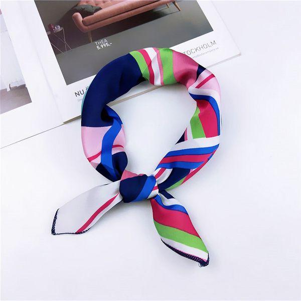Cloth Korea  scarf  (1 color stripe) NHMN0335-1-color-stripe