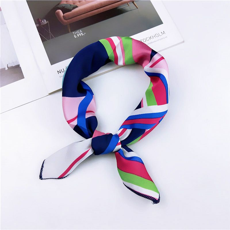 Cloth Korea  scarf  (1 color stripe) NHMN0335-1-color-stripe