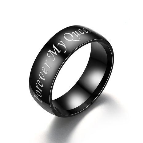 Titanium&Stainless Steel Fashion Geometric Ring  (Men MYKING-5) NHTP0019-Men-MYKING-5's discount tags