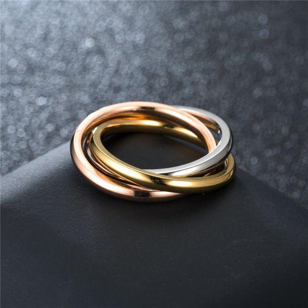 Titanium&Stainless Steel Fashion Sweetheart Ring  (Third Ring-5) NHTP0027-Third-Ring-5