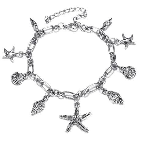 Bracelet de cheville géométrique en alliage (GEM01-02) NHPJ0141-GEM01-02's discount tags