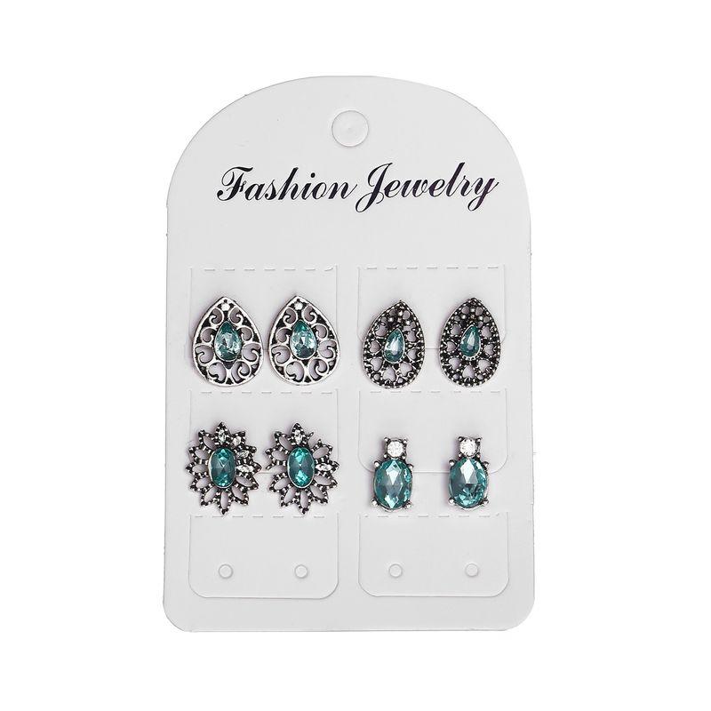 Alloy Fashion Flowers earring  GCM0304 NHPJ0163GCM0304