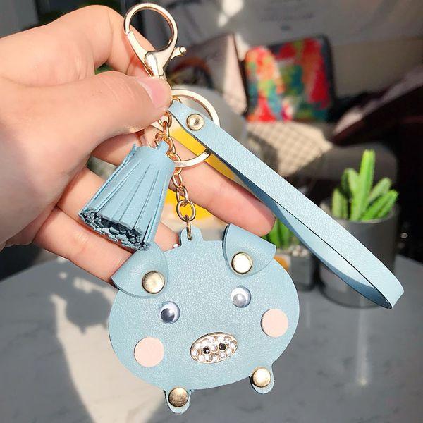 PU Fashion Tassel key chain  (1) NHBM0622-1
