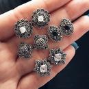 Alloy Fashion Flowers earring  GBI0103 flower earrings set NHPJ0075GBI0103flowerearringsset