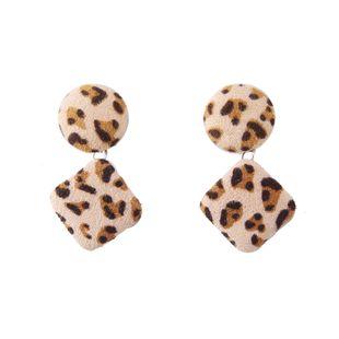 Cloth Fashion Geometric earring  (yellow) NHJQ11060-yellow's discount tags