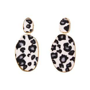 Cloth Fashion Geometric earring  (white) NHJQ11068-white's discount tags