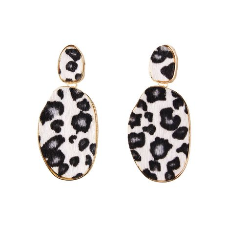 Cloth Fashion Geometric earring  (white) NHJQ11068-white's discount tags