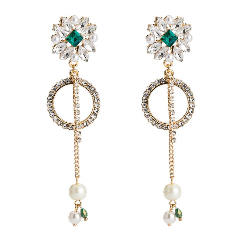 Alloy Fashion Geometric earring  (Alloy) NHYT1396-Alloy