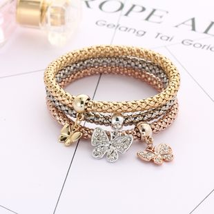 Imitated crystal&CZ Fashion Bows bracelet  (Butterfly GEE06-03) NHPJ0191-Butterfly-GEE06-03's discount tags