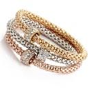 Imitated crystalCZ Fashion Bows bracelet  Butterfly GEE0603 NHPJ0191ButterflyGEE0603